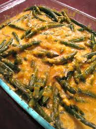 fresh green bean casserole with caramelized onions rants from my