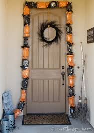 lighted halloween candy garland