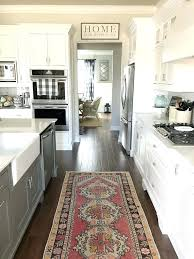 Grey And White Kitchen Rugs Breathtaking Kitchen Runner Rugs Runners For Floor Amazing With