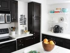How To Sand Kitchen Cabinets How To Stain Wood Kitchen Cabinets Diy