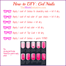 how to do gel nails with pictures u2013 popular manicure in the us blog