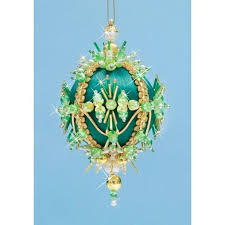 91 best ornaments satin balls greens images on pinterest beaded