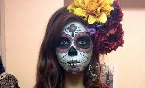 Sugar Skull Halloween Costumes 15 Sugar Skull Makeup Halloween Halloween