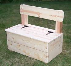 Wood Storage Bench Plans by Storage Bench