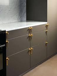brushed brass cabinet hardware unlacquered brass cabinet hardware amazing kitchen features gray