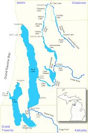 Mi Map Best Elk River Chain Of Lakes Map Us Mi File Free