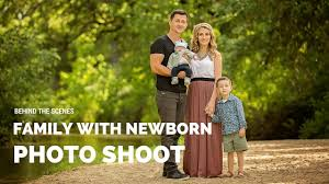 sacramento photographers beautiful family with newborn photo shoot sacramento family