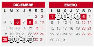 Calendario Diciembre 2018 Calendario Escolar 2017 18 Vs Calendario Laboral Festivos Y Puentes