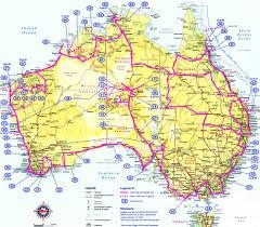 Driving Maps Driving Map Of Australia Aus Roads De U2022 Mapsof Travel Maps And