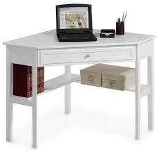 White Corner Workstation Desk Corner Desk On Pinterest Corner Computer Desks Ikea Corner Desk