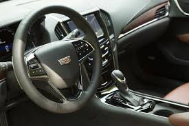 Cadillac Ats Coupe Interior First Drive 2015 Cadillac Ats Coupe Digital Trends