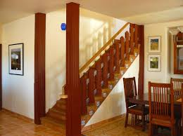 Wooden Banister Wood Stair Railings 1954 Home Decorating Designs