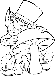 inspirational leprechaun coloring page 36 in coloring print with
