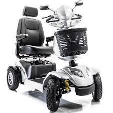 4 wheel full suspension electric scooter
