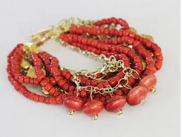 make bracelet from beads images Make a chunky bracelet with beads and chains jpg