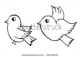easy outlines of animals bird outline stock images royalty free images vectors