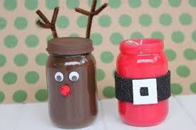 Decorated Jars For Christmas Christmas Crafts Using Baby Food Jars Rainforest Islands Ferry
