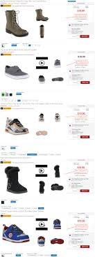 kmart s boots on sale kmart shoes giving 10 points back free or cheap shoes after