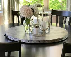 Lazy Susan Dining Room Table Large Lazy Susan Etsy