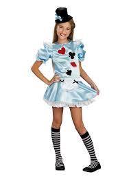 Alice Wonderland Halloween Costumes Kids Tween Alice Wonderland Costume Rubies 886244 Walmart