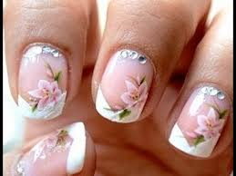 simple french nail art design 2013 youtube 1000 images about