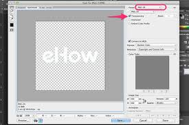 how to make a transparent png with photoshop techwalla com