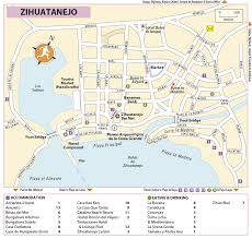 zihuatanejo map zihuatanejo ixtapa message board is this map of zihua stops