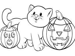 3 preschool halloween coloring pages printables preschool