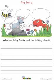 story writing sheets jolly learning jolly learning