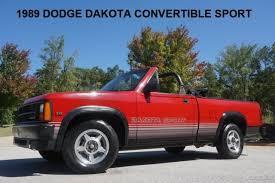 1989 dodge dakota sport convertible 1989 dodge dakota convertible sport orig books and records