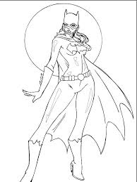 how to draw coloring pages batgirl 35 superheroes u2013 printable coloring pages