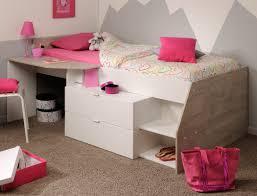 hochbetten für jugendzimmer hochbett b 90x200 weiß grau kinderbett jugendzimmer
