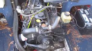 3 0 mercruiser 135 hp 4cyl engine youtube