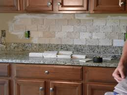 Tiling A Kitchen Backsplash Do It Yourself Sink Faucet Diy Kitchen Backsplash Ideas Limestone Countertops