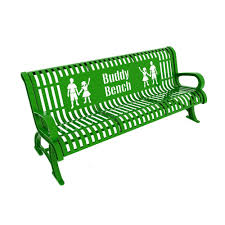 lasting impressions 6 ft park bench 460 224 0006 the home depot