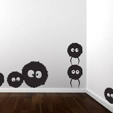 dust bunnies wall sticker set by spin collective dust bunnies wall sticker set