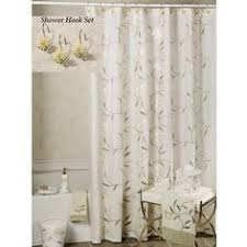 Seville Curtains Seville Sheer Voile Shower Curtain With Valance Bed And Bath