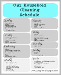 Home Cleaning Tips Cleaning Schedule For Large Home House Cleaning And A Free