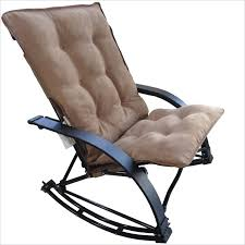 Folding Rocking Chair Folding Rocking Game Chair In Saddle Brown U2014 Jen U0026 Joes Design