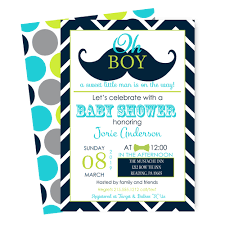 little man baby shower invitations boys navy and aqua