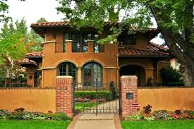 spanish style homes spanish style houses small style homes metal roof style ranch