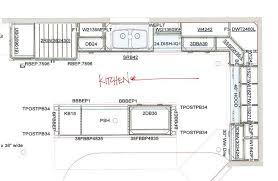 island kitchen floor plans new kitchen floor plan with kitchen floor plans inspiration image