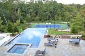Swimming Pool Ideas For Backyard by Backyard Inground Pool Designs Pool Design Ideas