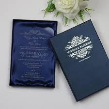 wedding invitations luxury personalized luxury customized acrylic wedding invitation cards