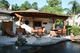 Pool With Pergola by Houston Outdoor Kitchens Spring Photos The Woodlands Arbor