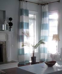 Fancy Drapes Fancy Drapes Living Room Using Striped Linen Drapery Fabric And