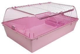 Guinea Pig Cages Cheap Amazon Com Hagen Zoozone Pink Indoor Guinea Pig Rabbit Cage