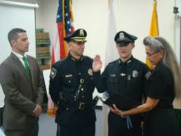 north reading police welcome two new police officers north