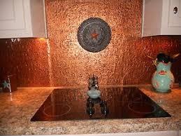 roll of faux tin kitchen backsplash wc40 ant copper 15 u0027 long ebay