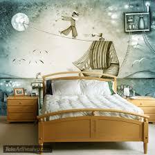Tapisserie Poster Mural by Papier Peint Vinyle Bateau